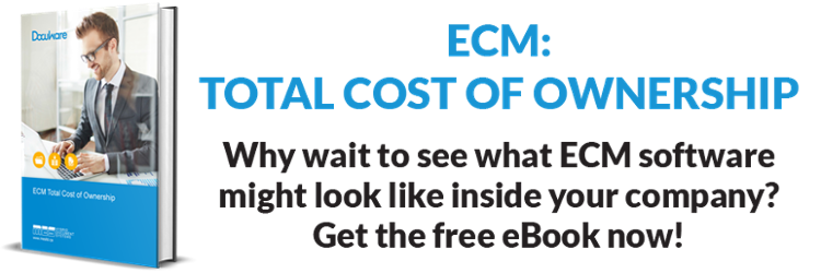 ECM total cost of ownership
