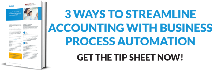 streamline accounting with business process automation